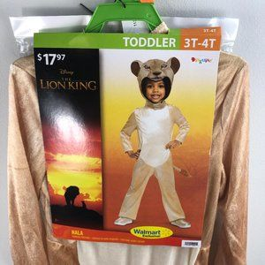 The Lion King Nala Costume Size 3T-4T
